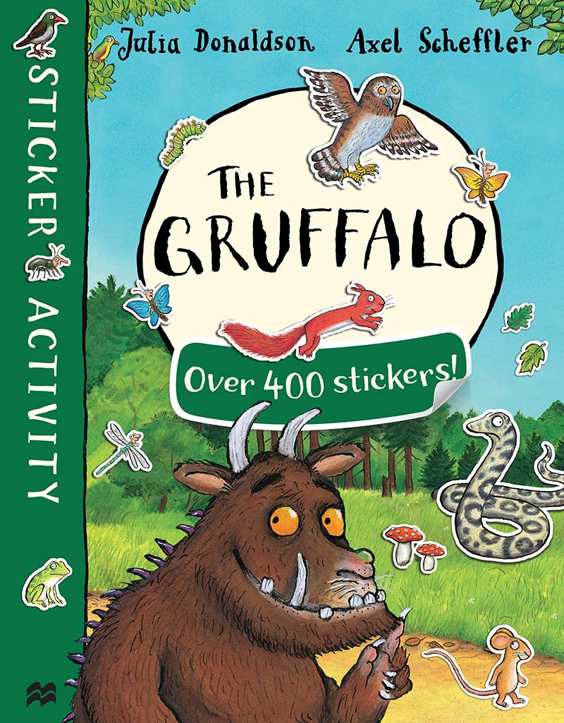 The Gruffalo Sticker Book - Jacket