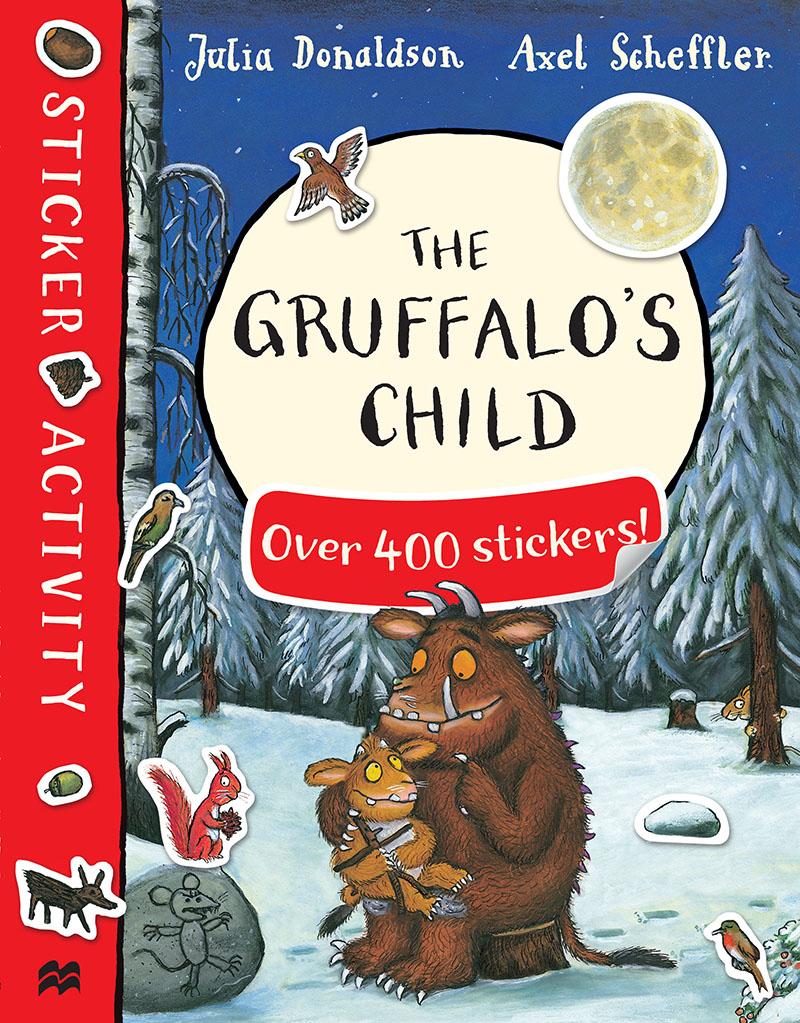 The Gruffalo's Child Sticker Book - Jacket