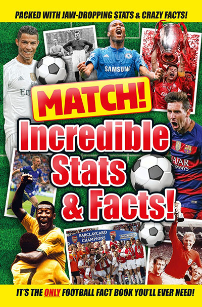 Match! Incredible Stats and Facts - Jacket