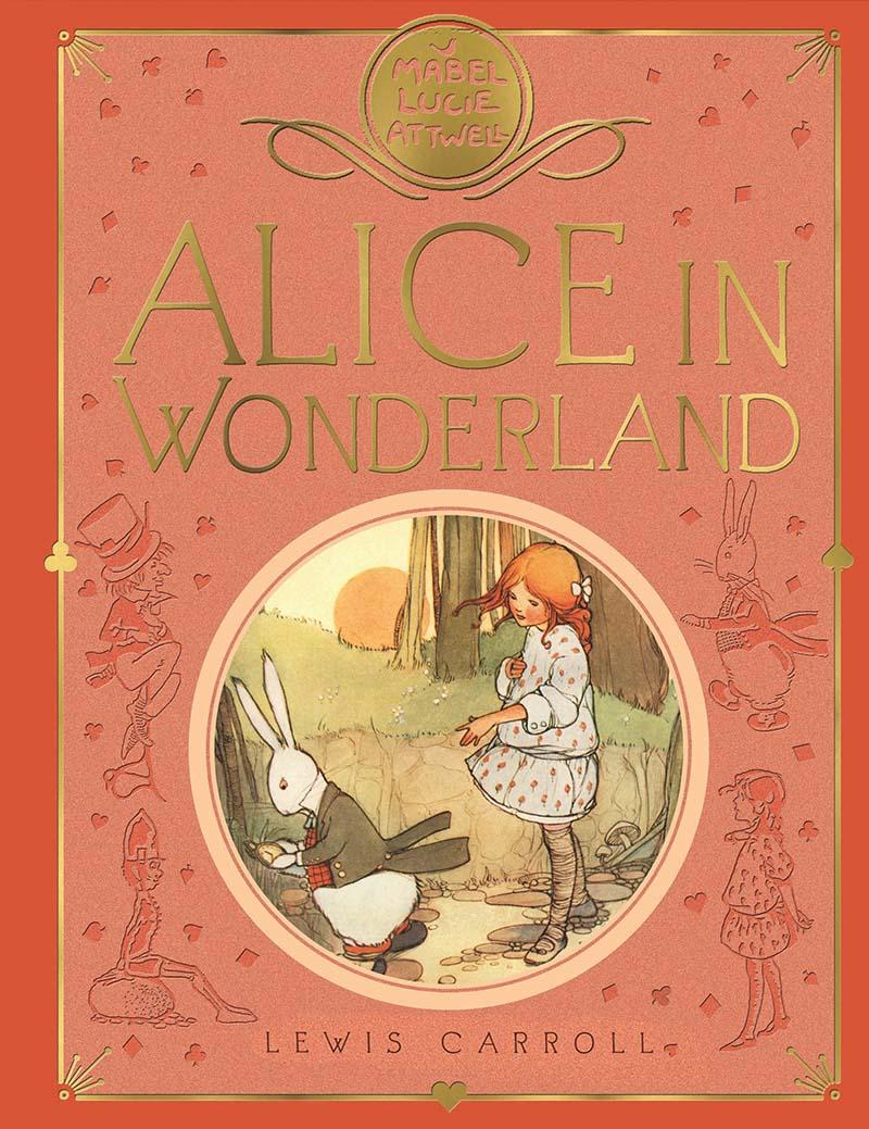 Mabel Lucie Attwell's Alice in Wonderland - Jacket