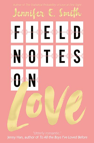 Field Notes on Love - Jacket