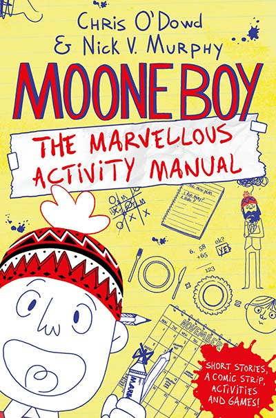 Moone Boy: The Marvellous Activity Manual - Jacket