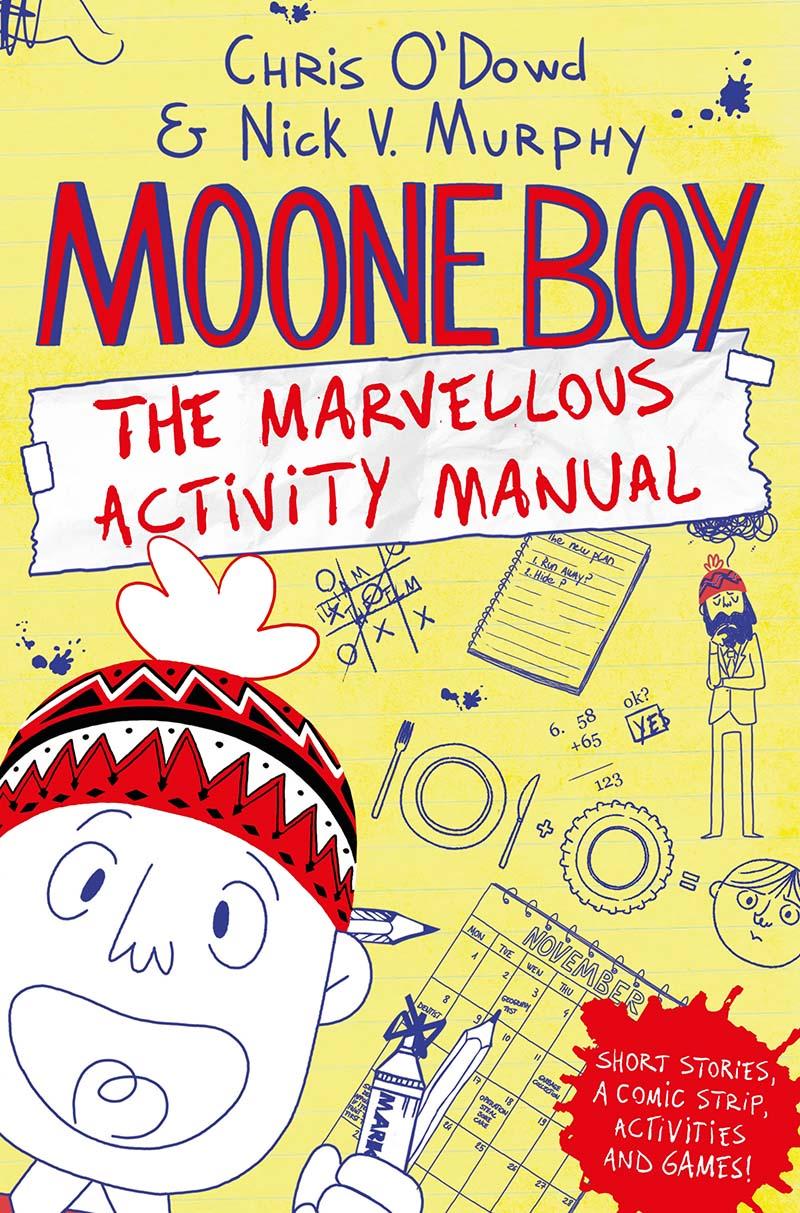 Moone Boy: The Marvellous Activity Manual - Jacket