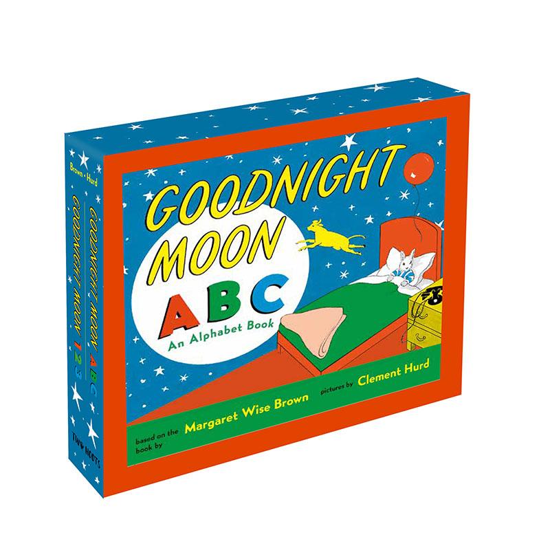 Goodnight Moon 123 and Goodnight Moon ABC Gift Slipcase - Jacket