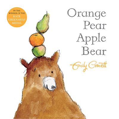 Orange Pear Apple Bear - Jacket
