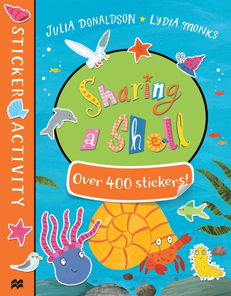 Sharing a Shell Sticker Book - Jacket