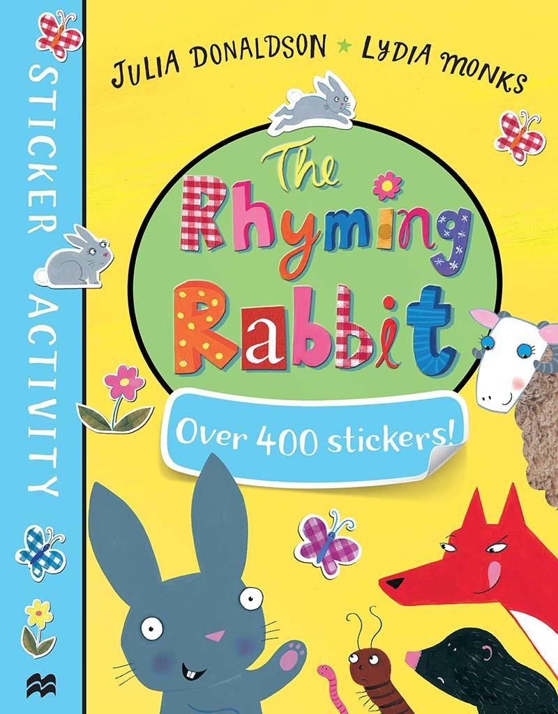 The Rhyming Rabbit Sticker Book - Jacket