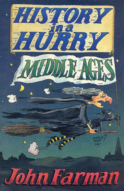 History in a Hurry: Middle Ages - Jacket