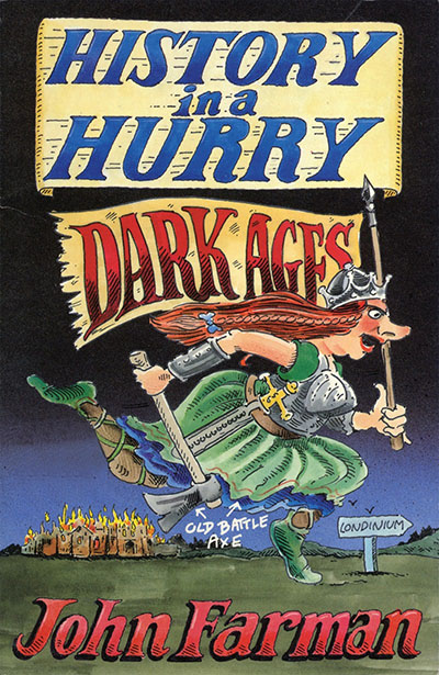History in a Hurry: Dark Ages - Jacket