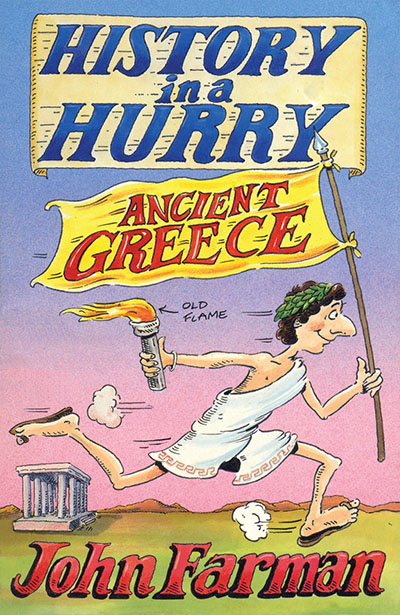 History in a Hurry: Ancient Greece - Jacket