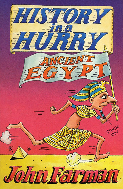 History in a Hurry: Ancient Egypt - Jacket