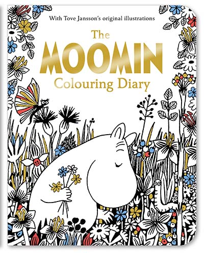 The Moomin Colouring Diary - Jacket