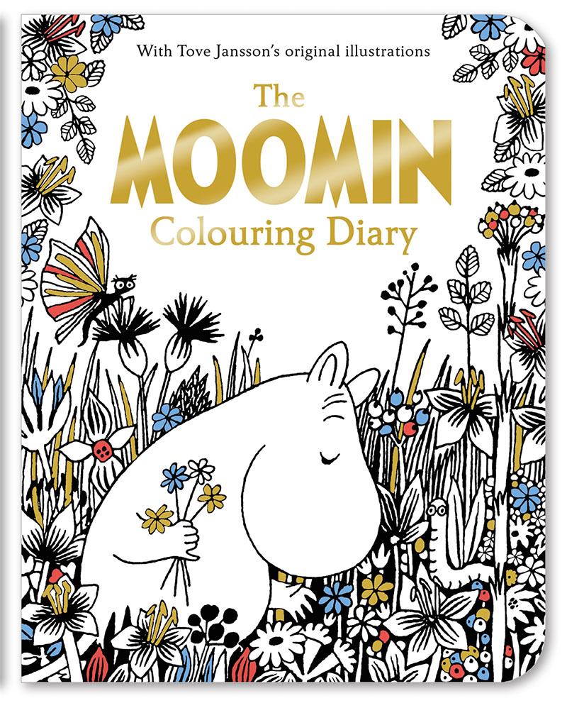 The Moomin Colouring Diary - Jacket