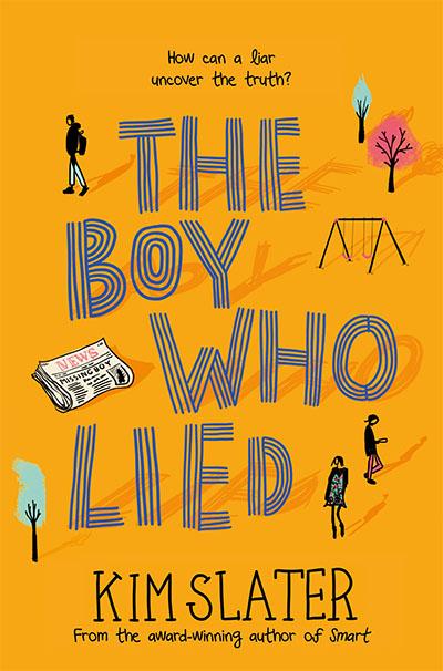 The Boy Who Lied - Jacket