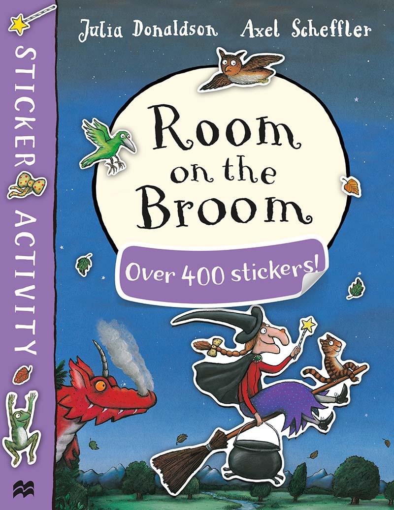 Room on the Broom Sticker Book - Jacket