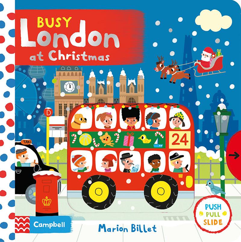 Busy London at Christmas - Jacket