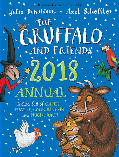 The Gruffalo and Friends Annual 2018 - Jacket
