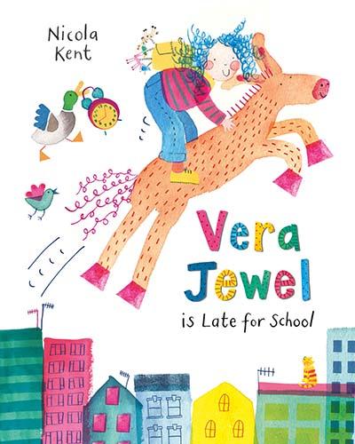 Vera Jewel is Late for School - Jacket