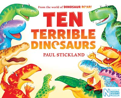 Ten Terrible Dinosaurs - Jacket