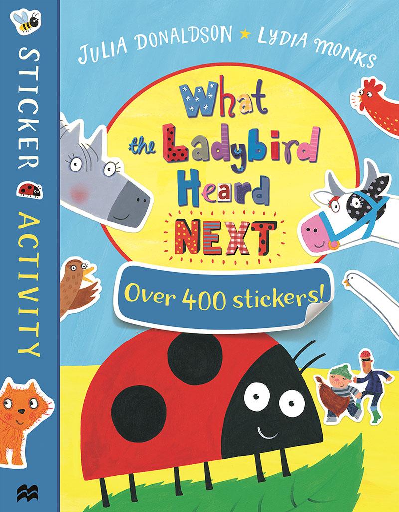 What the Ladybird Heard Next Sticker Book - Jacket