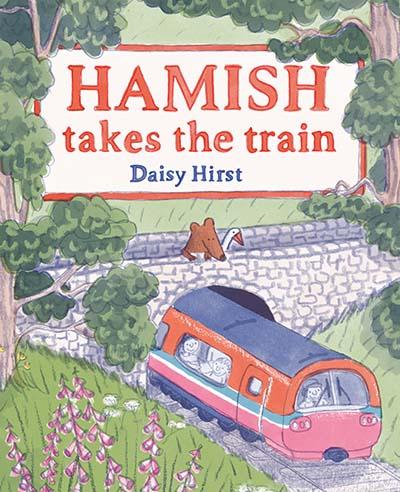 Hamish Takes the Train - Jacket