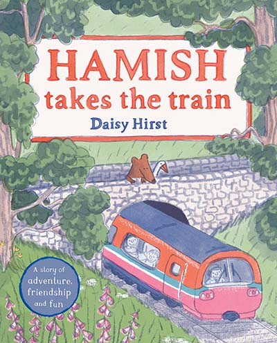 Hamish Takes the Train - Jacket