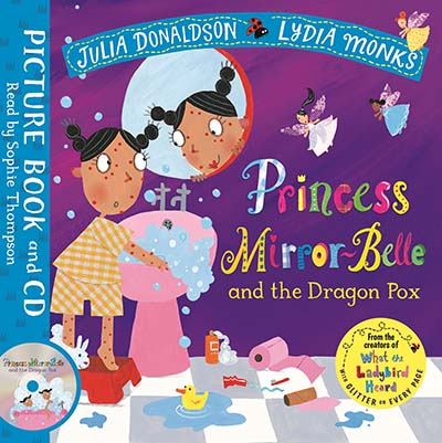 Princess Mirror-Belle and the Dragon Pox - Jacket