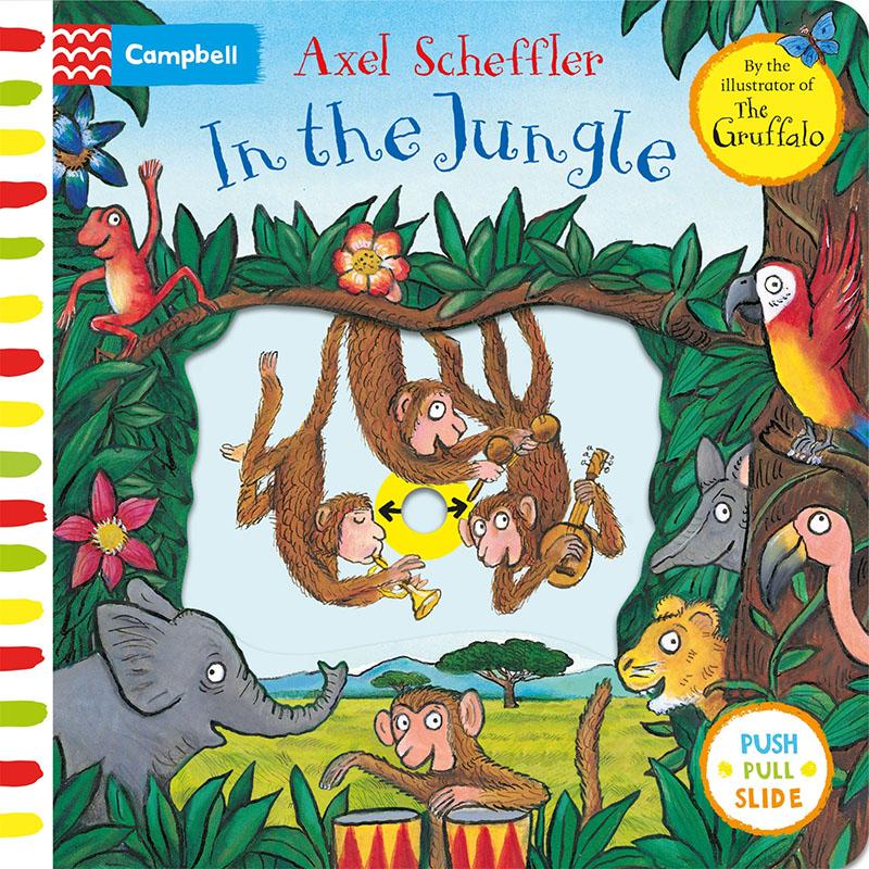 Axel Scheffler In the Jungle - Jacket