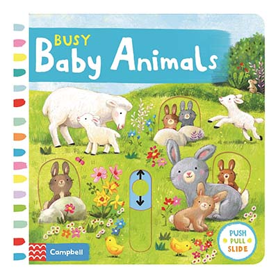 Busy Baby Animals - Jacket