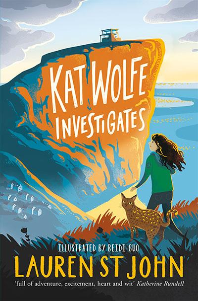 Kat Wolfe Investigates - Jacket