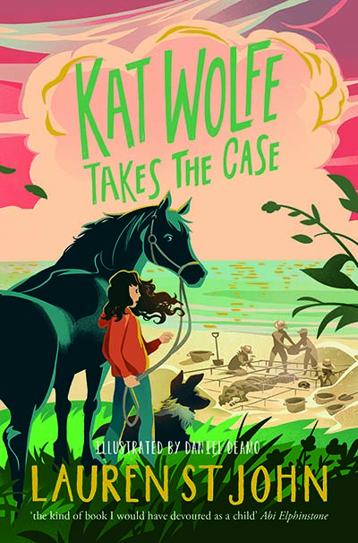 Kat Wolfe Takes the Case - Jacket