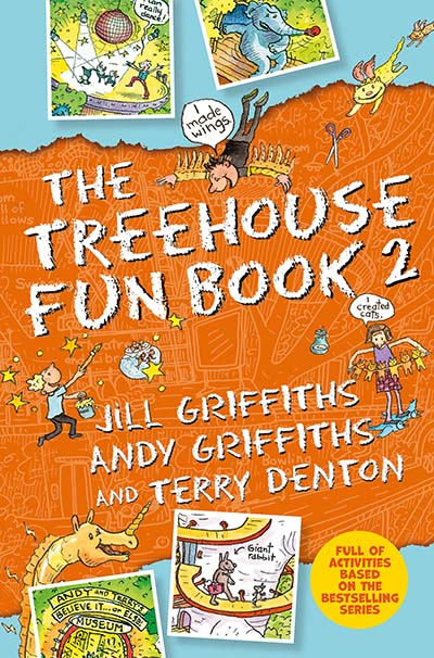 The Treehouse Fun Book 2 - Jacket