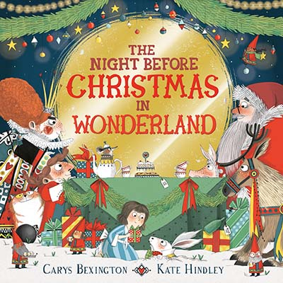 The Night Before Christmas in Wonderland - Jacket