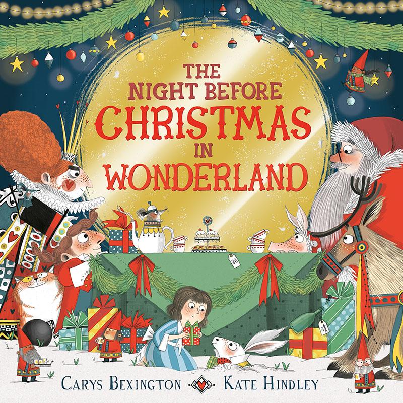The Night Before Christmas in Wonderland - Jacket