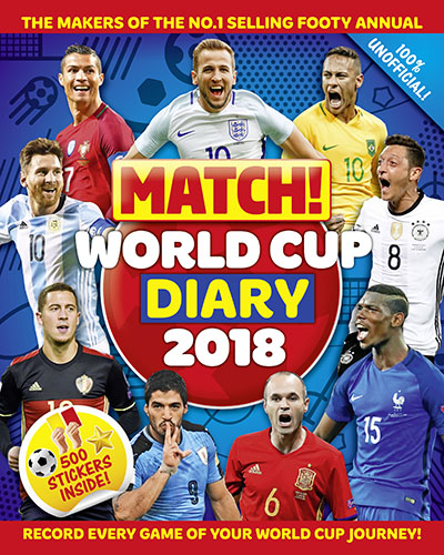 Match! World Cup 2018 Diary - Jacket