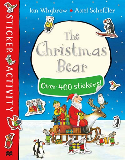 The Christmas Bear Sticker Book - Jacket