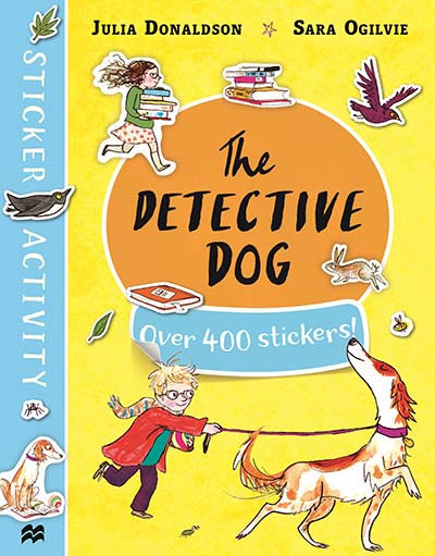 The Detective Dog Sticker Book - Jacket