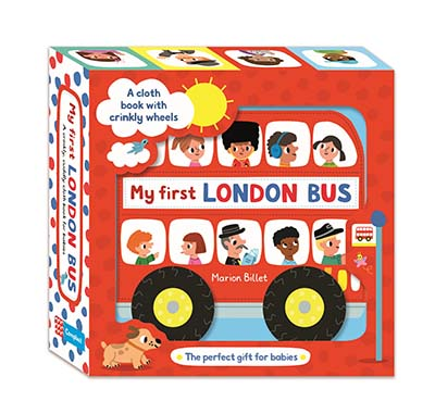 My First London Bus Cloth Book - Jacket