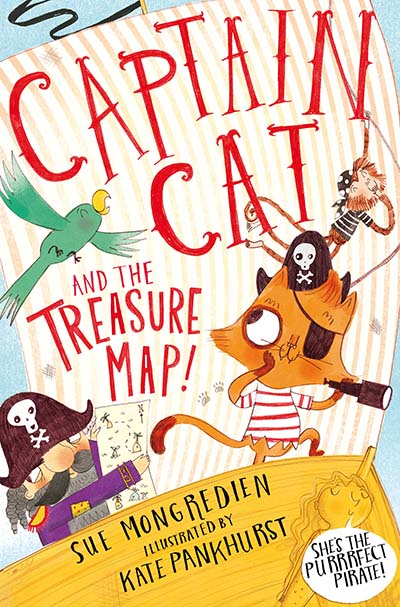 Captain Cat and the Treasure Map - Jacket