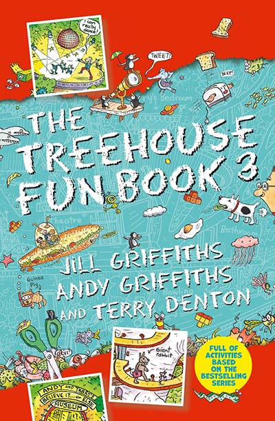 The Treehouse Fun Book 3 - Jacket