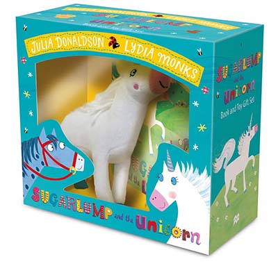 Sugarlump and the Unicorn Book and Toy Gift Set - Jacket