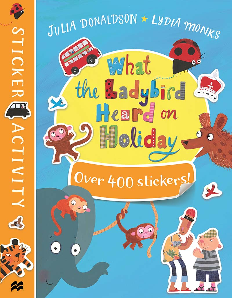 What the Ladybird Heard on Holiday Sticker Book - Jacket
