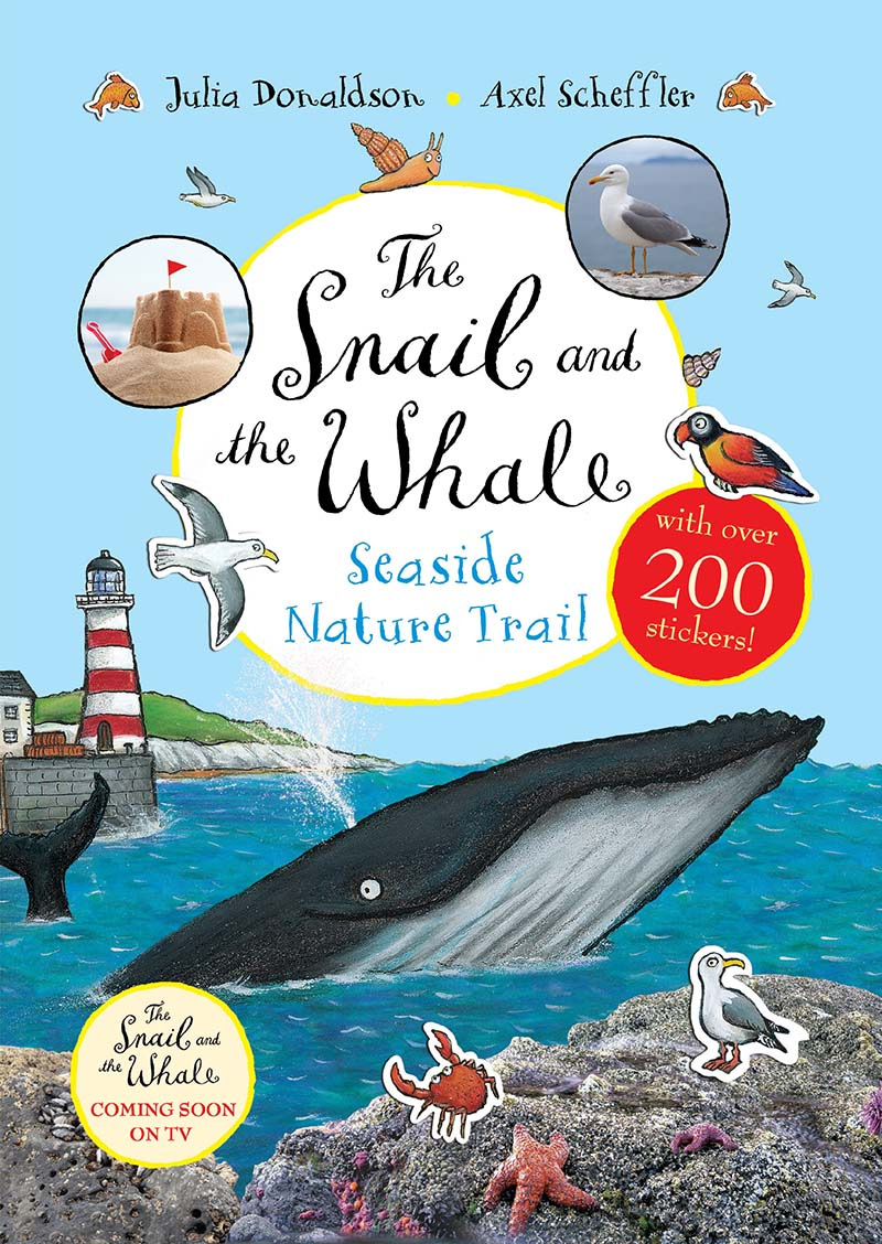 The Snail and the Whale Seaside Nature Trail - Jacket