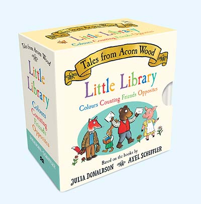 Tales From Acorn Wood Little Library - Jacket