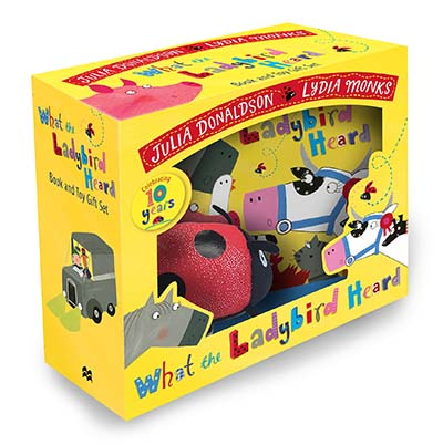 What the Ladybird Heard Book and Toy Gift Set - Jacket