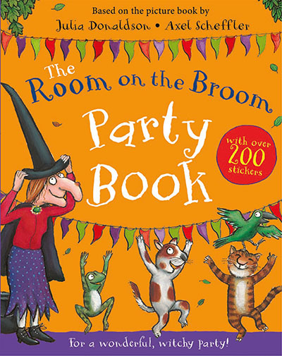 The Room on the Broom Party Book - Jacket