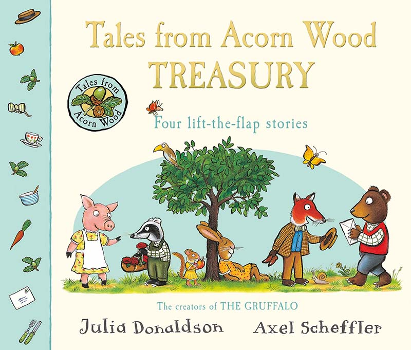 Tales From Acorn Wood Treasury - Jacket