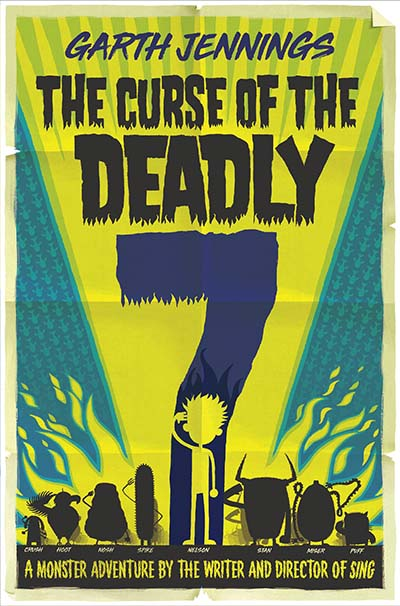 The Curse of the Deadly 7 - Jacket