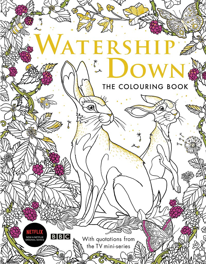 Watership Down The Colouring Book - Jacket