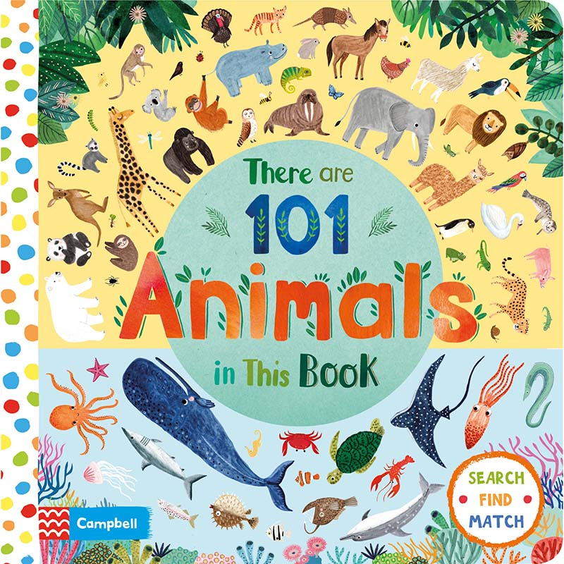 There Are 101 Animals in This Book - Jacket